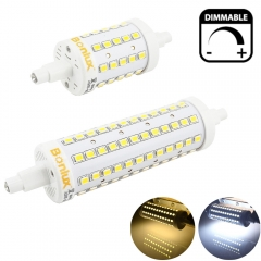 Dimmable R7S LED 78mm 118mm Light Bulb 5W 10W J78 J118 LED Corn Bulb Replace Halogen Security Floodlight