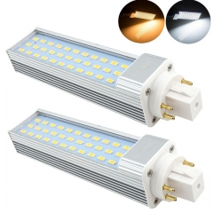 Bonlux 13W GX24 4-Pin Rotatable LED PLC Lamp 26W CFL Repalcement LED G24Q/GX24Q Harizontal Recessed Down Light 2-Pack